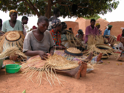 Basket Weaving Supplies South Africa : African market baskets are coming back swarthmore co op