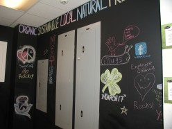The Swarthmore Co-op Conversation Wall