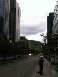View of Mount Royal
