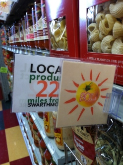 SOL, our new vetting process, stands for Sustainable, Organic, Local, and corresponds with like-minded products