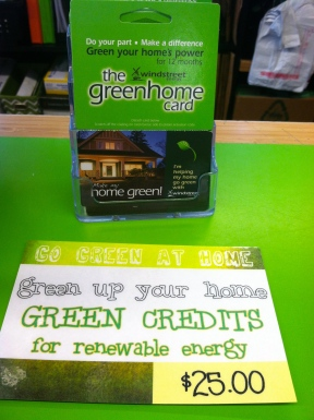 Windstreet Green Energy Cards